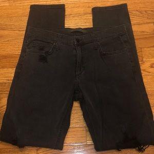 Joe's Jeans Boyfriend Straight Leg Distressed Jean